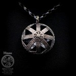 Kolovrat 3D Silver Necklace