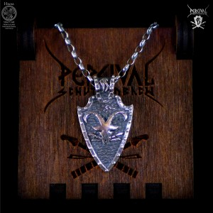 Percival Schuttenbach Goat Silver Necklace by Percival & Hnoss Silver Craft New Jewelry Collection 2019