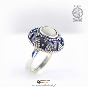 Great Moravian Silver Slavic Ring (I) - IX/X AD with Mothers Milk